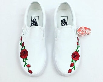 Custom Embroidered Vans