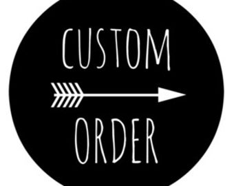 Custome listing for Brittney Smith