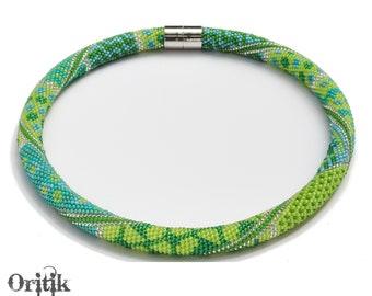 Mix & Match - Clovers - PDF Beaded Peyote with a twist - not crochet pattern