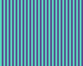 Free Spirit - All Stars by Tula Pink - Iris Stripe - PWTP069-IRIS - 100% cotton fabric - Fabric by the yard(s)