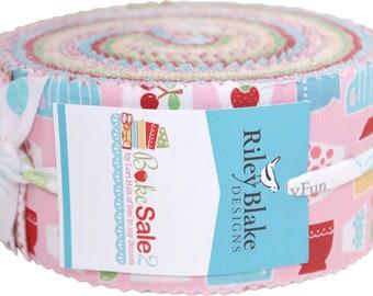 Bake Sale 2 by Lori Holt Rolie Polie - 2.5-inch Strips - Riley Blake RP-6980-40