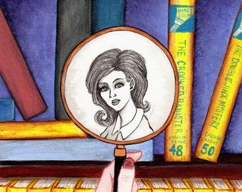 Nancy Drew, Girl Detective 8x10 Print