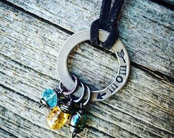 Mom necklace, Mom Jewelry