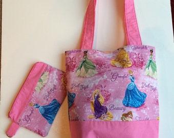 Disney Princesses Handbag with clutch
