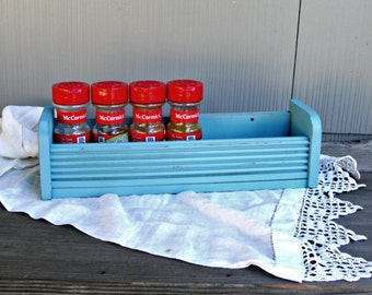 Upcycled Vintage Spice Rack | Retro Trailer Decor