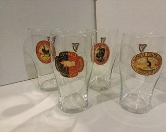 Guinness glassware set of 4