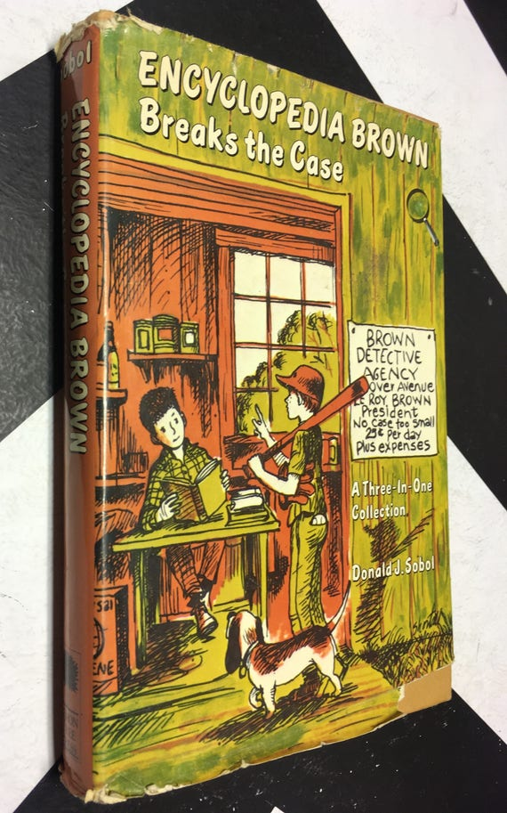 Encyclopedia Brown Breaks the Case: A Three-in-One Collection by Donald J. Sobol (Hardcover, 1966)