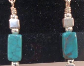 37-Turquoise Earrings