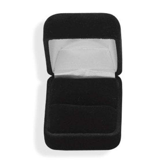 Ring Box Black Velvet Ring Box Ring Storage Box Ring