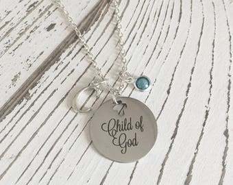 Child of God Personalized Necklace