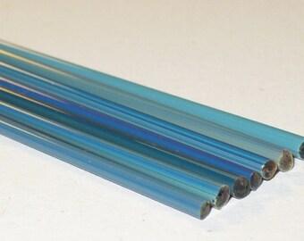 StrikingColor (Brad's Glass) CMD320 - Handpulled Silver Stringers - 104 coe Glass - Katie Gee - SRA