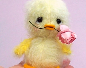 Chirrup Chick - soft toy mohair kit