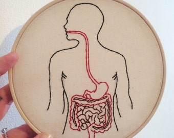 Intestines Embroidery