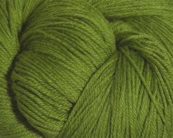 Cedar Green Cascade Heritage Yarn 437 yards Super Fine Wool Nylon Sock Yarn Color 5684