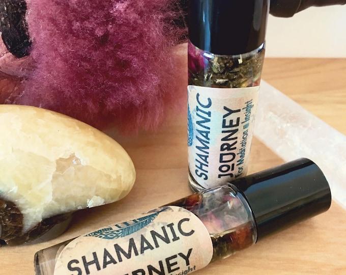 Shamanic Journey Meditation Oil for Spiritual Trance, Dreamwork, Astral Travel, Intuition Development, Psychic Ability, Shamanism