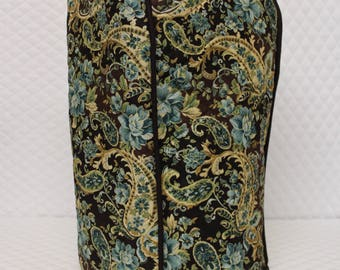 Brown Paisley Quilted Ninja Cover