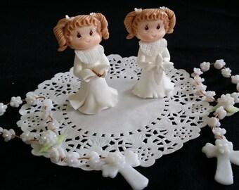 Girls First Communion, Boy Baptism Cake, Girls Communion Favors, Baptism Favor, Boys Communion, Baptism Cake Topper, Baptism Cake Toppers