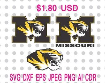 Missouri Tigers Png