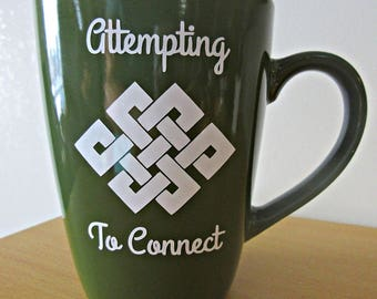 Attempting To Connect Mug