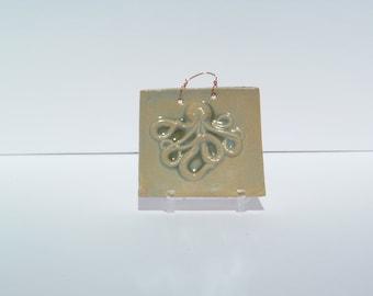 Octopus in Pale green Glaze