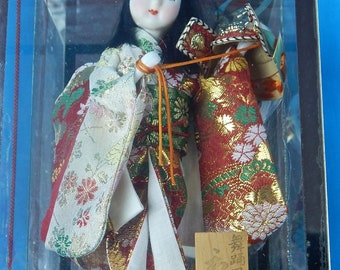 Vintage Japanese Japan Handmade Limited Edition Geisha Collectable Doll Toy Gift for Girl