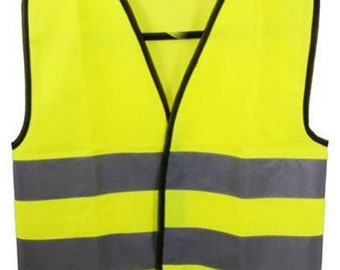Baby Yellow Vests  Reflective Waistcoat Hi Visibility Baby Sports Safety