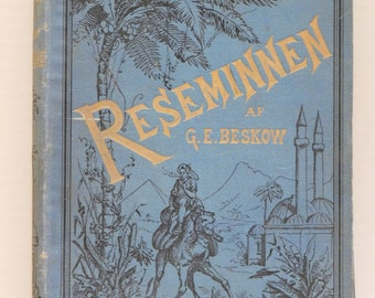 Antique Reseminnen AF G. E. Beskow Swedish Book