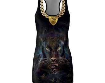 The Black Panther Dora Milaja Racerback Dress