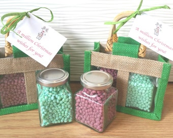 Sweet Millions gift bag for Christmas. Sweets confectionery, Secret Santa stocking fillers