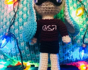 Splatoon Inkling Girl crochet