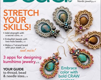 Bead and Button Magazine February 2018 (Issue #143)