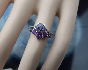 Custom Made Bridal Set, Custom Made Engagement Ring, Custom Made Wedding Band, Custom Jewelry Design for any diamond, gemstone ot moissanite