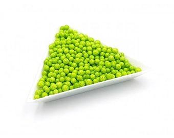 5000 polystyrene 3mm Green beads