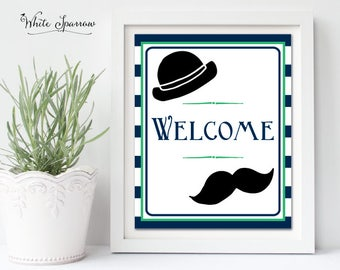 Little Man Baby Shower. Baby Shower signs. Boy theme Baby Shower. Welcome Sign. Mustache Baby Shower Decor. Little man. Baby Shower decor