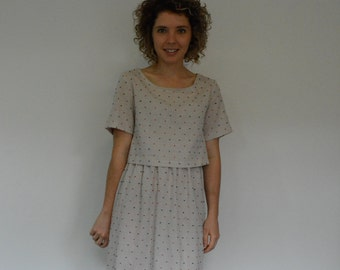 Two piece dress  PDF sewing pattern