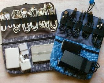 Cord bag, organizer, cable backups, gadgets organizer, laptop charger, hard disk drive