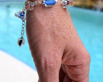 Fresh Colors Cane Glass Bracelet