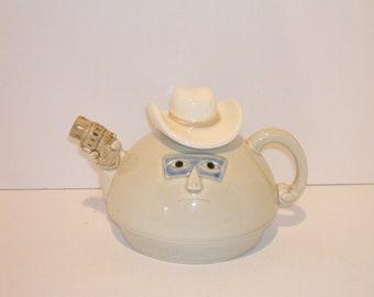 Masked Bandit Tea Cup