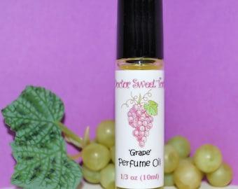 Grape Handmade Perfume Oil Roll-On