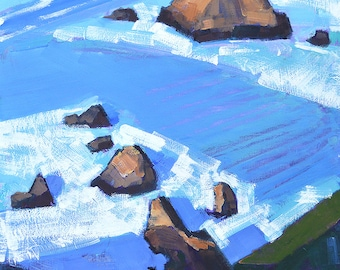 Big Sur, Garrapata California Landscape Painting