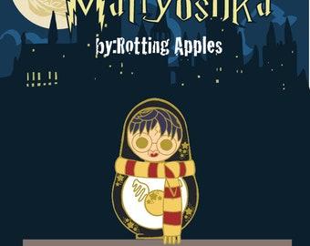 Hogwarts Matryoshka *PreOrder* {singles}