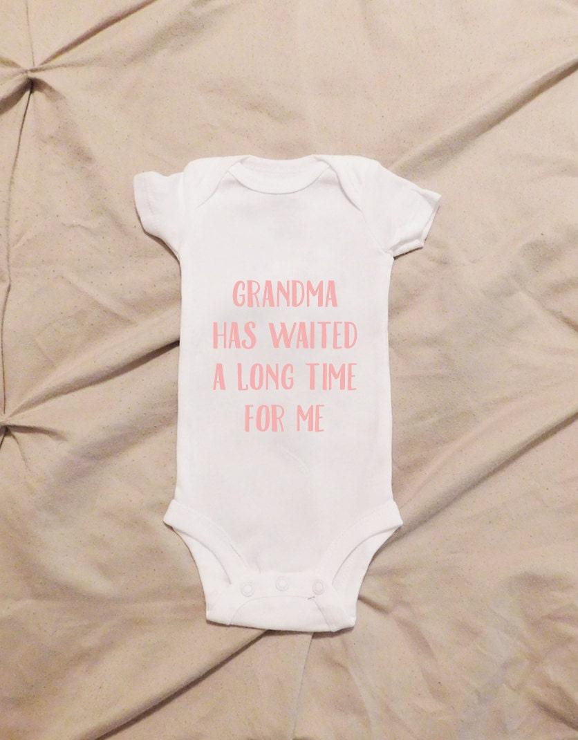 Grandma Onesie First Grandchild Soon To Be Grandma Just