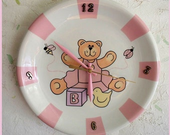 Wall clock Baby Girl