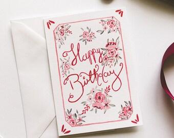 Birthday card, Birthday greetings, cards, greeting cards