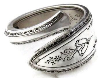 Spoon Ring Choose Your Size Demitasse Argosy Art Deco