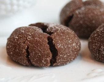 Chocolate Cloud Cookies (TWO DOZEN)