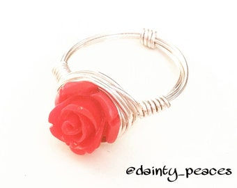Red Rose Ring // The Bachelor Rose // Will You Accept This Rose