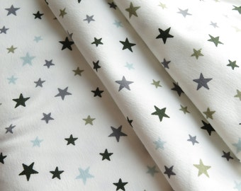 AVALANA Jersey Knits by STOF fabrics | Stars Crème