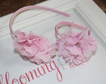 "Light Pink Dolly & Me Headband Set Fits 15-18"" Doll"