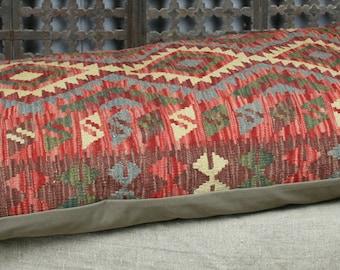 Kilim Floor Cushion Cover 118x68 cms